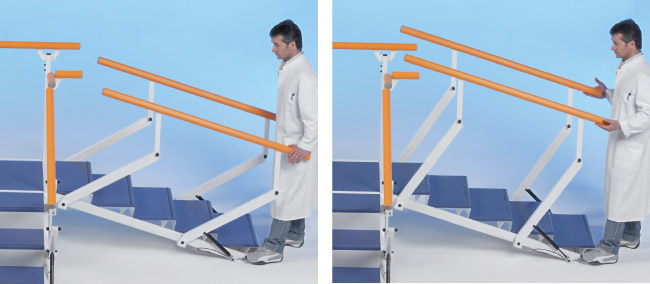 modular rehabilitation staircases plus line